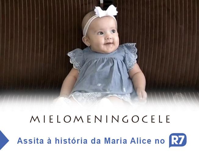 Mielomeningocele – Assista à história da Maria Alice